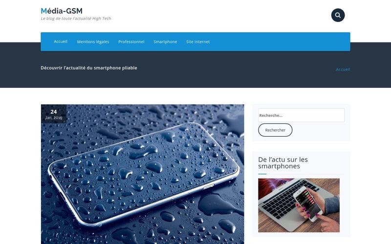 Média-GSM - Le blog de toute l'actualité High Tech