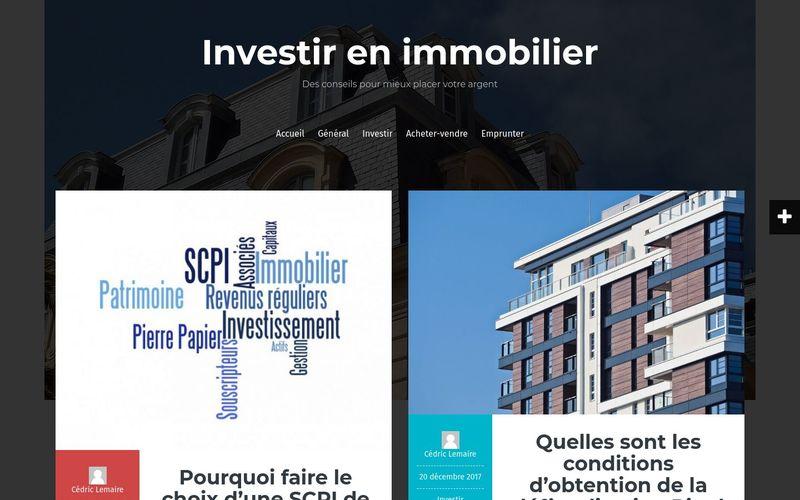 Investir en immobilier - Des conseils pour mieux placer votre argent