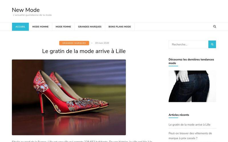 New Mode - L'actualité quotidienne de la mode